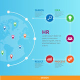 Business infographic concept -  set of infographic element Stock Photo
