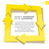 Business infographic 3D. Abstract background Stock Image