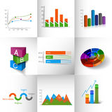 Business Infographic Design Royalty Free Stock Photo