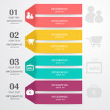 Business Infographic. The design concept of marketing Stock Photography
