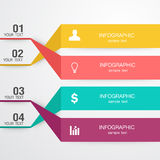 Business Infographic. The design concept of marketing Royalty Free Stock Image