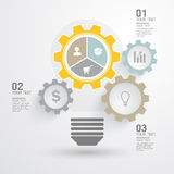 Business Infographic. The design concept of marketing Stock Images