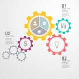 Business Infographic. The design concept of marketing Royalty Free Stock Photo