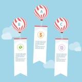 Business infographic design template. Stock Photos