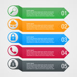 Business infographic design Royalty Free Stock Photos