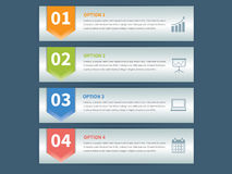 Business Infographic Element data Template Royalty Free Stock Photography
