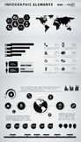 Business infographic elements Royalty Free Stock Images
