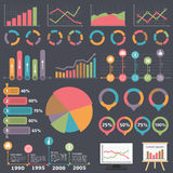 Business Infographic Elements Royalty Free Stock Image