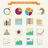 Business infographic elements Royalty Free Stock Photo
