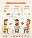 Business Infographic Elements Royalty Free Stock Photography