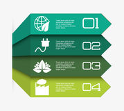 Business infographic with icons Stock Photography