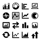 Business Infographic icons Stock Images