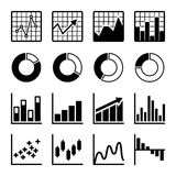 Business Infographic icons Royalty Free Stock Image