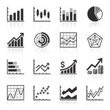 Business Infographic icons. Royalty Free Stock Image