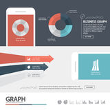 Business infographic / infographic element / hight quality design Royalty Free Stock Photos