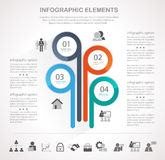 Business infographic set Royalty Free Stock Photo