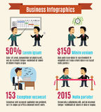 Business infographic set Royalty Free Stock Photos