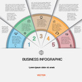 Business infographic for success project and other Your variant. Royalty Free Stock Image