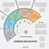 Business infographic for success project and other Your variant Royalty Free Stock Photo