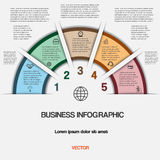 Business infographic for success project and other Your variant Stock Image