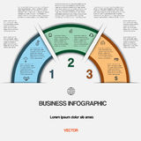 Business infographic for success project and other Your variant Royalty Free Stock Images