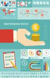 Business Infographic Template. Stock Photos