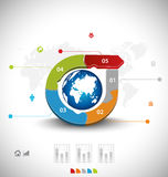 Business infographic template Stock Photos