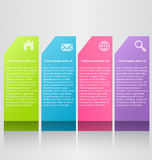 Business infographic template for presentation, education, web design, banner, brochure, flyer. Royalty Free Stock Images
