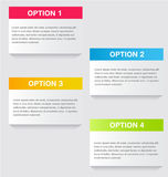 Business infographic template for presentation, education, web design, banner, brochure, flyer. Royalty Free Stock Photos