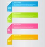 Business infographic template for presentation, education, web design, banner, brochure, flyer. Stock Images