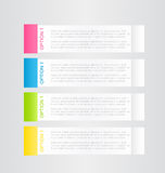 Business infographic template for presentation, education, web design, banner, brochure, flyer. Stock Image