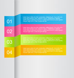 Business infographic template for presentation, education, web design, banner, brochure, flyer. Stock Photography