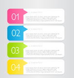 Business infographic template for presentation, education, web design, banner, brochure, flyer. Stock Photos