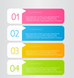 Business infographic template for presentation, education, web design, banner, brochure, flyer. Royalty Free Stock Image