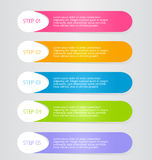 Business infographic template for presentation, education, web design, banner, brochure, flyer. Stock Images