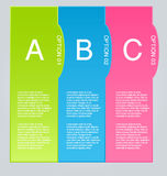 Business infographic template for presentation, education, web design, banner, brochure, flyer. Stock Image