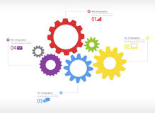 Business Infographic Vector Royalty Free Stock Photography