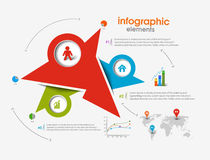 Business Infographic Vector Royalty Free Stock Photo