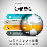 Business Infographic Stock Photography