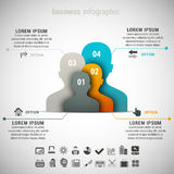 Business Infographic Royalty Free Stock Image