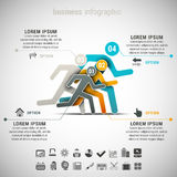 Business Infographic Royalty Free Stock Images