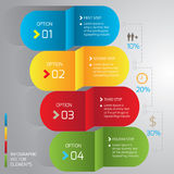 Business infographic. Which is really so useful to be jobs presentation Stock Images