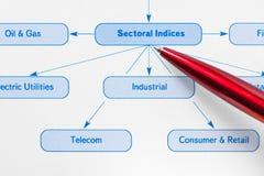 Business infographics analysis Stock Photography