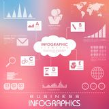 Business Infographics Chart Stock Photos