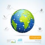 Business Infographics Chart Stock Photo