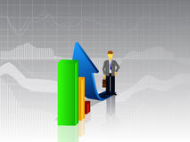 Business infographics. Infographics concept of business, statistics and graphics Stock Photo