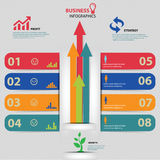 Business Infographics design. Business concept Royalty Free Stock Photo