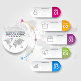 Business infographics design elements template graphic illustrat. Business Infographics, strategy, timeline, design elements template graphic illustration Royalty Free Stock Image