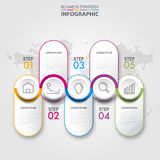 Business infographics design elements template graphic illustrat. Business Infographics, strategy, timeline, design elements template graphic illustration Royalty Free Stock Photo
