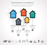 Business infographics design Stock Photo